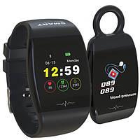 Браслет часы HP-P1 Smart Life Фитнес Черные