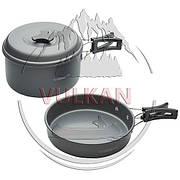 Набор посуды Trakker Armolife 2 Piece Cookware Set (кастрюля и сковорода)