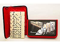 I5-87 Домино большое, Настольная игра, Дорожное домино, Подарочное домино, Домино в чехле