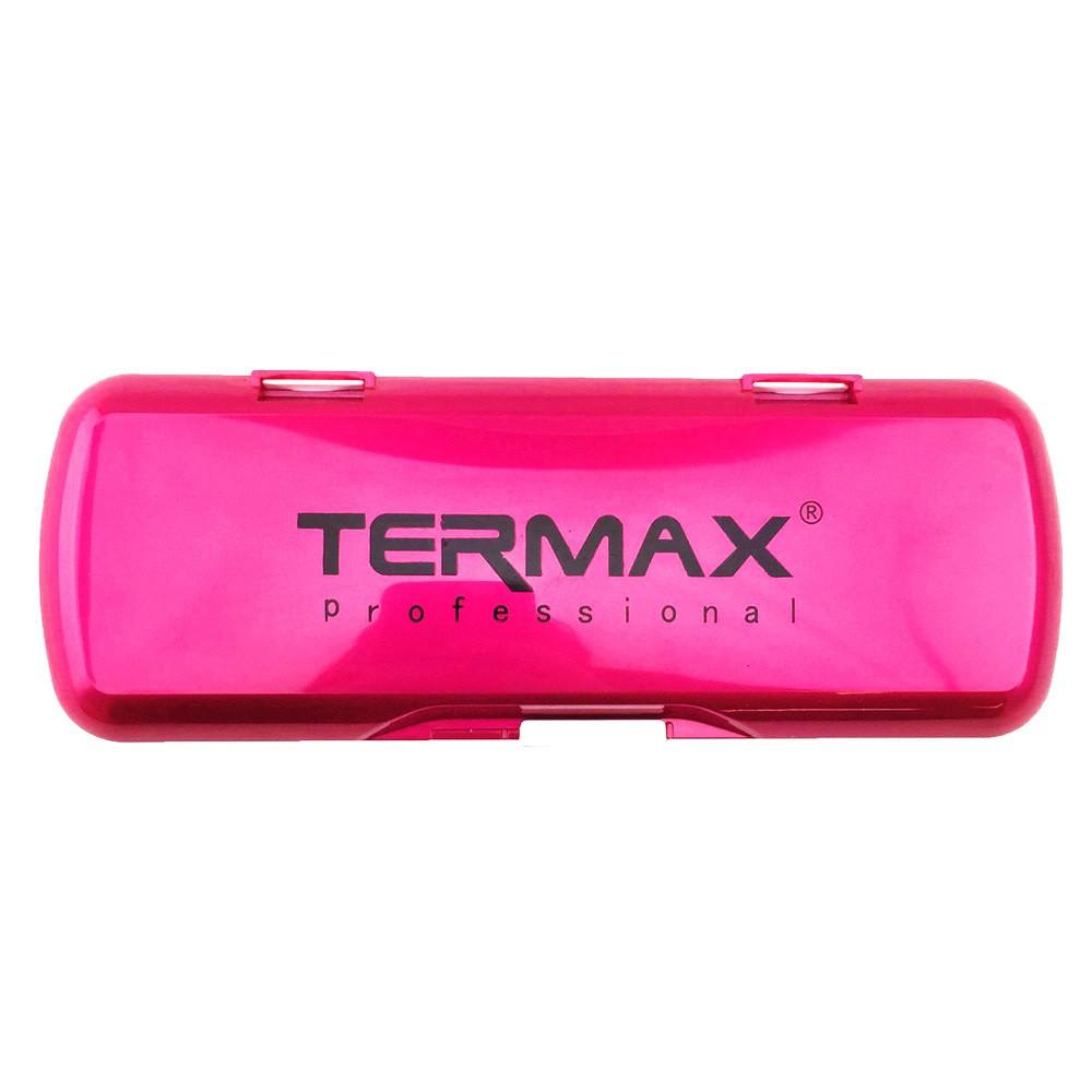 Чехол для парикм. ножниц TERMAX пластик розовый
