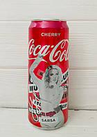 Газированный напиток кока-кола Coca-Cola Cherry, 330мл (Великобритания)