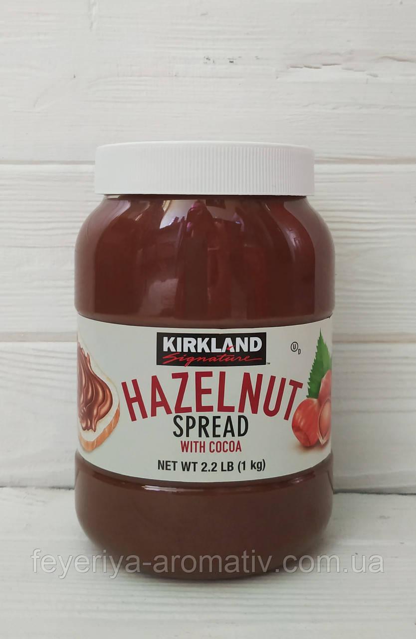 Шоколадно - ореховая паста Kirkland Hazelnut 1кг без пальмового масла (Германия)