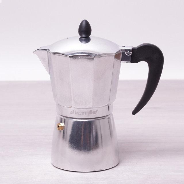 Кофеварка гейзерная 300 мл Kamille KM-2504 на 6 порций