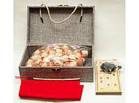 I5-83 Лото в деревянном сундучке, Подарочное лото, Деревянное лото, Настольная игра в лото, Лото сувенир