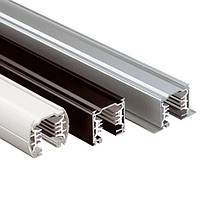 Шинопровод 1 фазный Z-Light 1MT SINGLE PHASE GREY RAIL