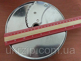 Диск POM5 для овощерезки Robot Coupe CL50,52,60 (27070) cлайсер волнистый 5 мм, фото 2