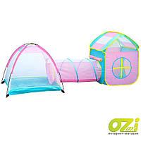 Детская палатка с туннелем Li Jian ZA2166