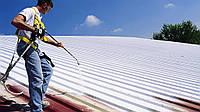 Чем покрасить крышу? Чем покрасить оцинкованную крышу???