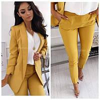 Класичеcский женский костюм (пиджак + брюки). Размеры 40 42 44 46 48 50 52 54 56 58 60