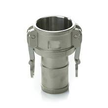 Швидкороз'ємне з'єднання Camlock (камлок) C-125 (DN32), алюміній