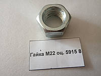 Гайка М22 оц. 5915 8
