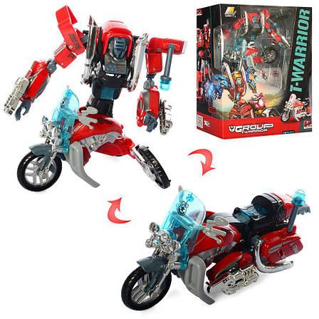 Трансформер Robotron Робот-мотоцикл RT-J8016A, фото 2