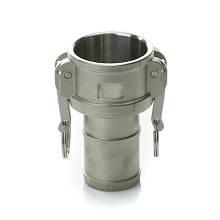 Швидкороз'ємне з'єднання Camlock (камлок) C-400 (DN100), алюміній