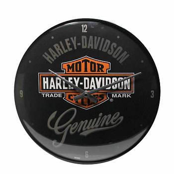 Настенные часы Nostalgic-art Harley-Davidson Genuine (51082)