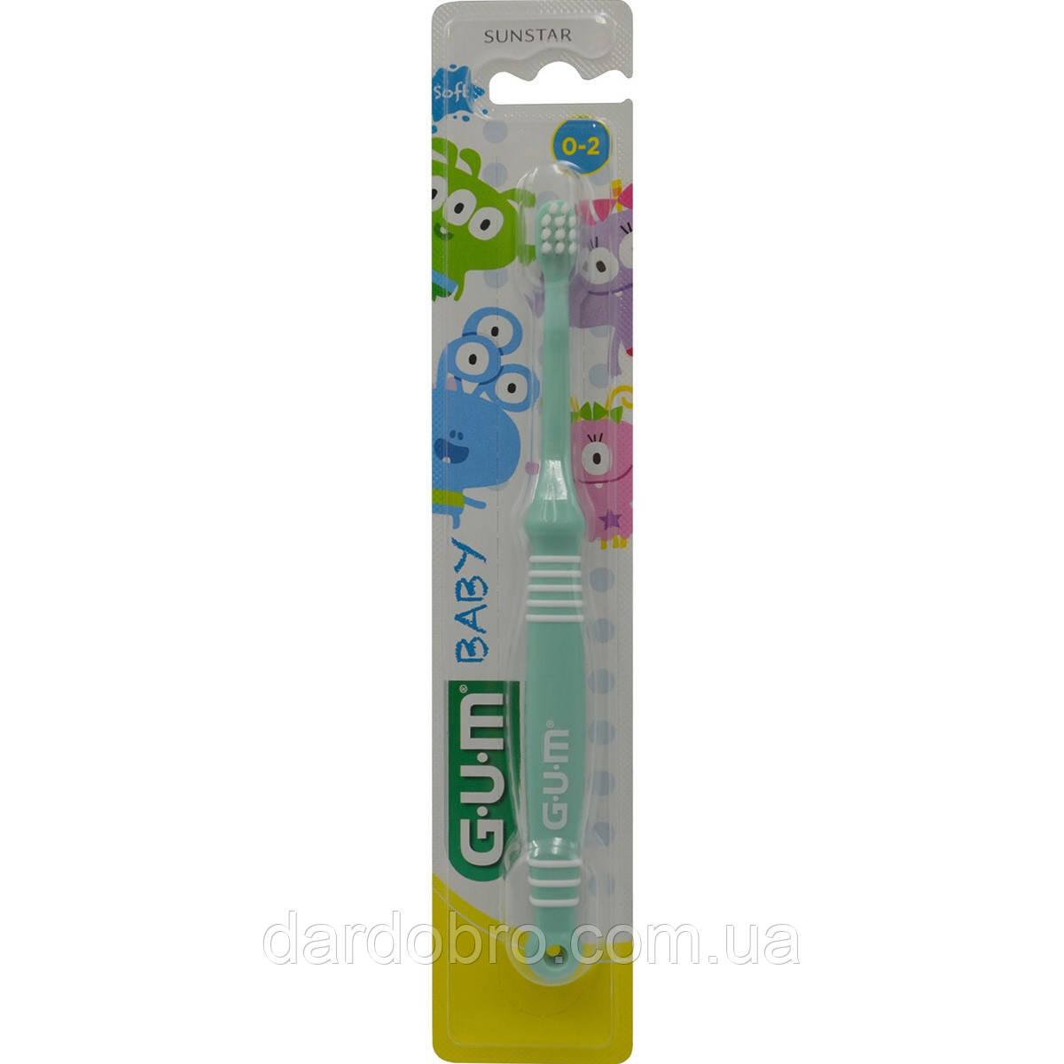 Зубная щетка GUM KIDS MONSTER