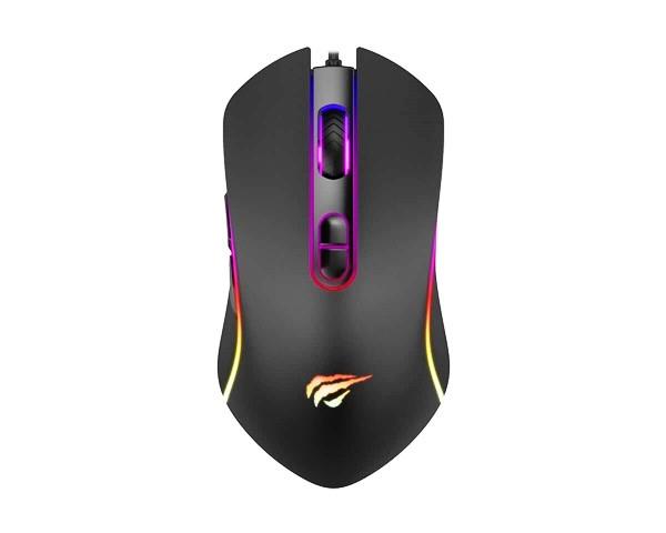 Мышь игровая проводная Havit MS852 RGB  black
