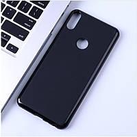 Чехол Soft Line для Asus Zenfone Max Shot (ZB634KL) силикон бампер черный