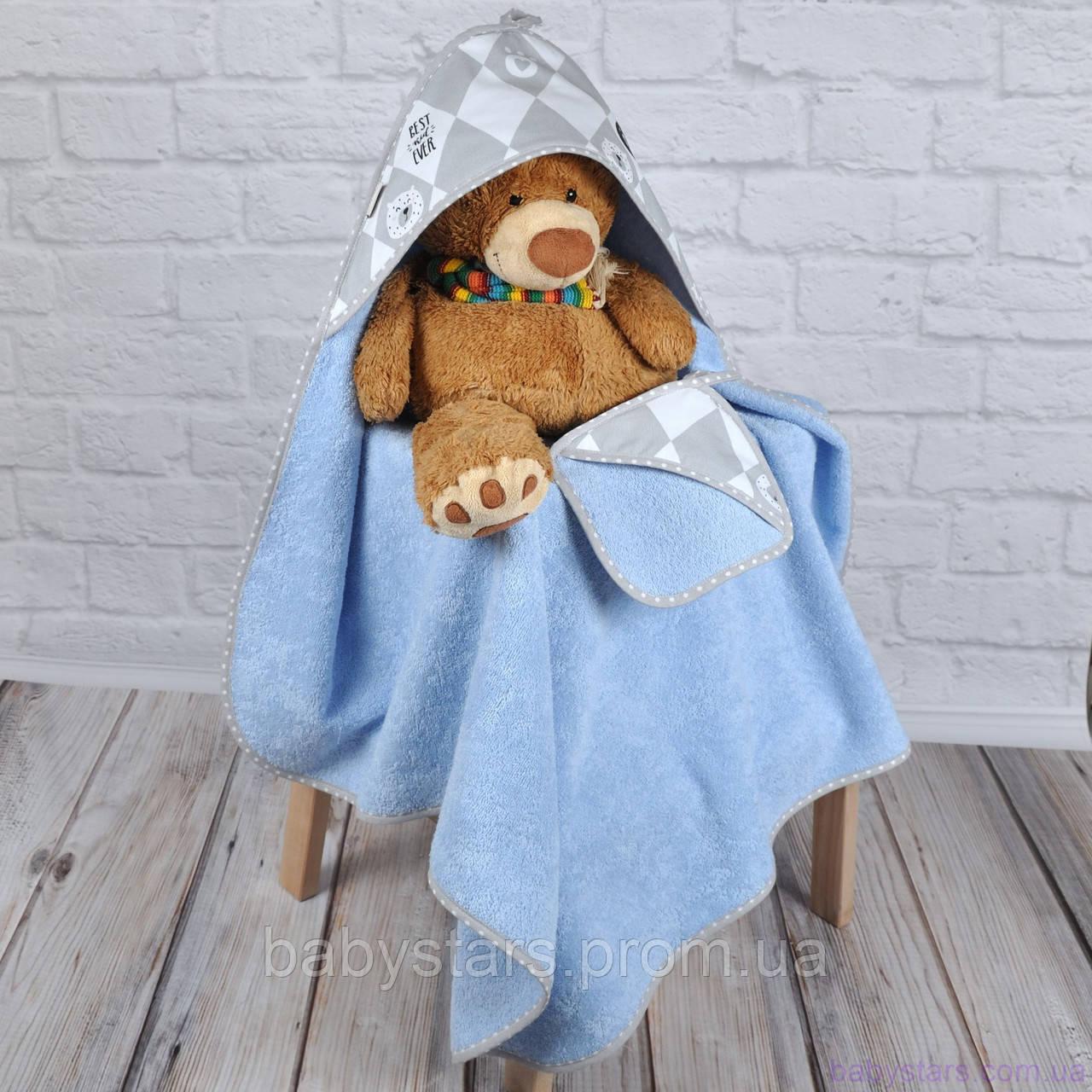 """Полотенце с капюшоном для детей """"Балу"""""""