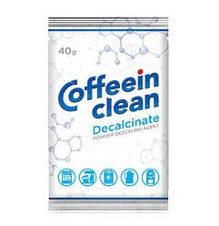 Профессиональное средство Coffeein clean Decalcinate 40г для очистки от накипи кофемашин