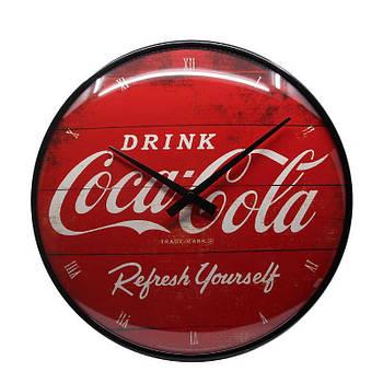 Настенные часы Nostalgic-art Coca Cola Red Refresh Clock (51074)