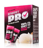 Протеин сывороточный Energy Pro Пломбир для женщин 20 саше по 32 г