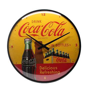 Настенные часы Nostalgic-art Coca Cola Yellow Clock (51069)