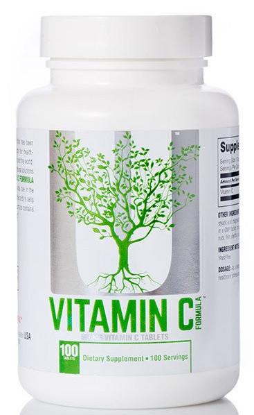 Витамины Universal Nutrition - Vitamin C Formula  500 мг (100 таблеток)