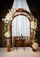 """Свадебная арка """"Изабелла"""" из термодревесины"""