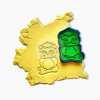 """3D форми для пряників - Вирубка """"Вчений Сова №2"""""""