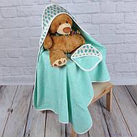 """Детское полотенце с капюшоном """"Пингвины"""", фото 1"""