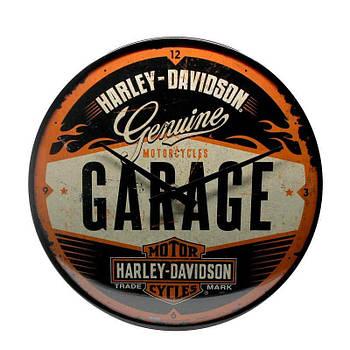 Настенные часы Nostalgic-art Harley-Davidson Garage Style (51083)