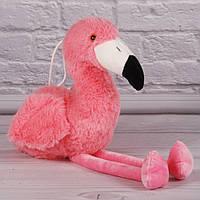 """Мягкая игрушка """"Розовый Фламинго"""", плюшевый фламинго, игрушка розовый фламинго 19 см."""