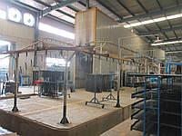 Линия порошково-полимерного  покрытия тренажеров