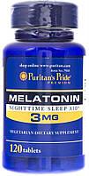 Вітаміни Puritan's Pride Melatonine 3 mg 120 caps