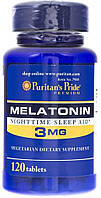 Витамины Puritan's Pride Melatonine 3 mg 120 caps