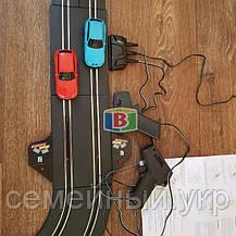 Детский гоночный трек. Работает от сети. Для детей от 3 лет. Материал: пластик. Код/Артикул  07210, фото 3