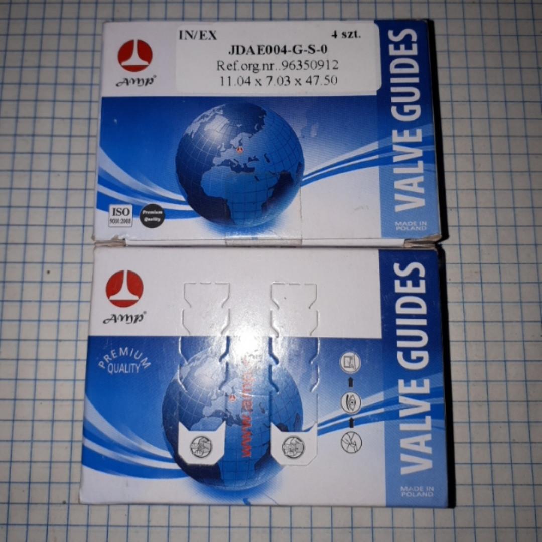Направляющие клапанов Daewoo Lanos Sens Nexia Деу Део Ланос Cенс Нексия Opel Kadett Опель Кадет AMP JDAE004