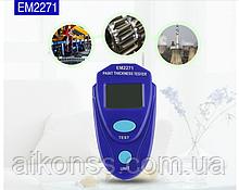Толщиномер EM2271 - тестер индикатор толщины лакокрасочных покрытий