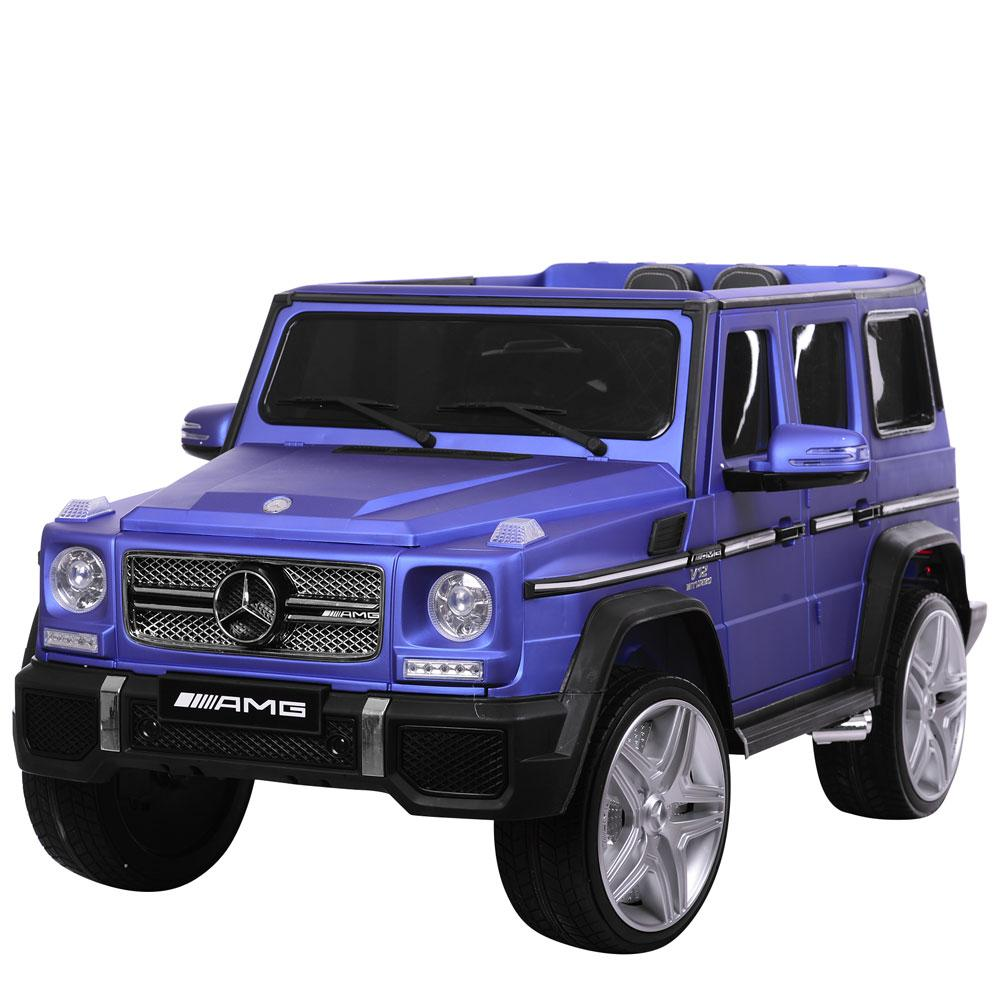 Электромобиль джип голубой M 3567EBLRM-4 BAMBI