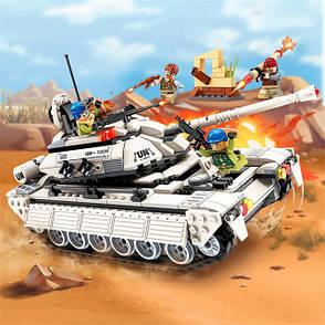 "Конструктор Qman Brick 3206 ""Операция Гром Атака танка"", 430 дет., фото 2"