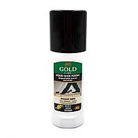 Краска жидкая для обуви GOLD CARE черная 75мл