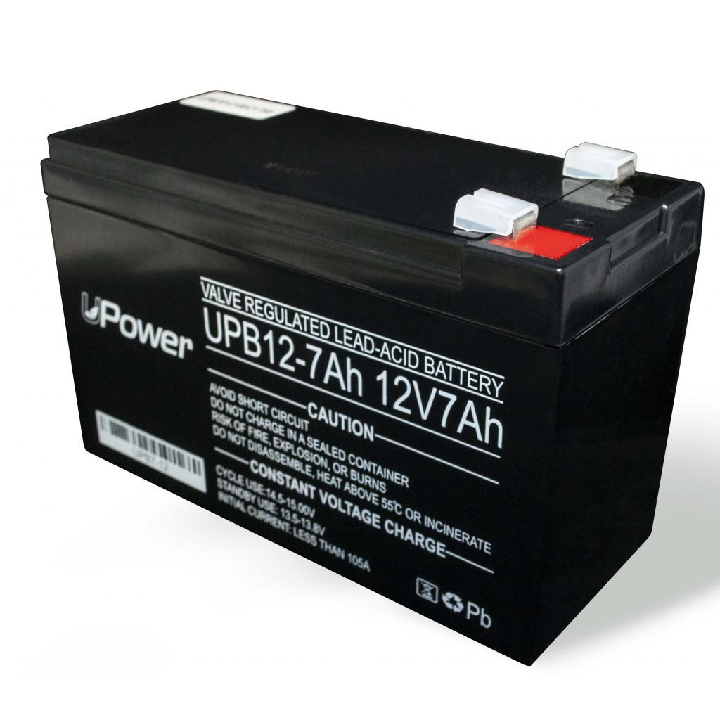 Батарея UPower 12V 7AH (UPB7-12) AGM .