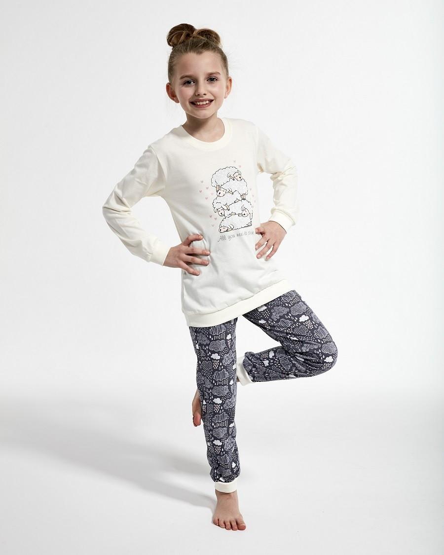 Пижама для девочки 86-128. Польша.Cornette 594/114 SHEEP