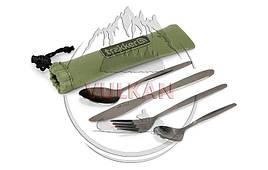 Набор столовых приборов из нержавеющей стали Trakker Armolife Cutlery Set (New)