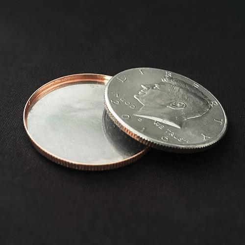 Реквізит для фокусів | Magnetic Expanded Shell (Half Dollar)
