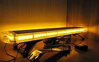 Светодиодная панель/балка/мигалка LED64-86 см желтая (оранжевая)