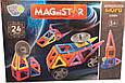 Магнітний конструктор LT5004, 24 деталей, фото 2