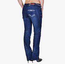 Синие джинсы с потертостями (WL028) | 5 шт., фото 3