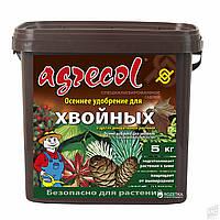 Осеннее удобрение 0-0-25 Агрекол для хвойных растений, 5 кг