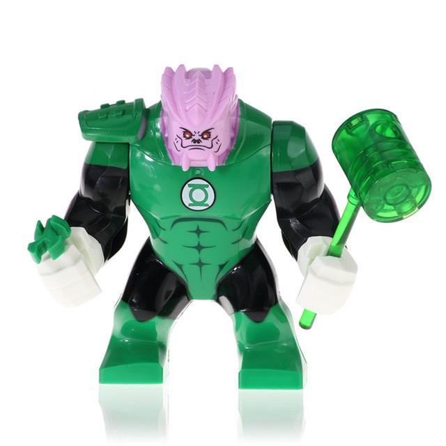 Лего фигурки Lego Marvel Марвел супер-герои мстители Киловог Kilowog Зеленый фонарь